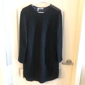 Derek Lam 10 Crosby Dress Size 8 Navy/Black